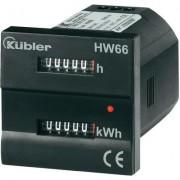 Kübler HW66 230VAC idő- és energiaszámláló (125404)