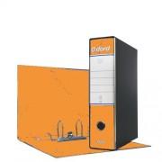 Esselte Registratore Oxford Modello Protocollo Dorso 8,0 Cm Colore Arancio