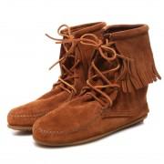 【SALE 10%OFF】ミネトンカ MINNETONKA Tranmer Ankle Hi Boot (BROWN) レディース