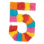Vegaoo Piñata Zahl 5