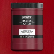 Liquitex Basics akrilfesték, 946 ml - 311, cadmium red medium hue