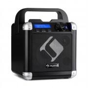 Auna BC-1, караоке система, блутут, батерия, дръжка, USB, AUX вход, черен (PAS3-BC-1)