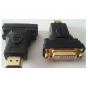 Male HDMI to DVI-D Female Dual Link adapter (Gold Plated Connectors)