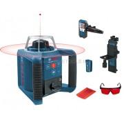 BOSCH GRL 300 HV Professional forgólézer BT 300 állvánnyal és GR 240 mérőléccel