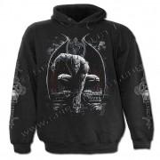 sweat-shirt avec capuche pour hommes - Stone Guardian - SPIRAL - D046M451
