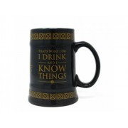 Game Of Thrones Caneca de Cerveja Drink and Know Things