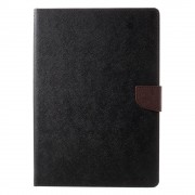 Mercury Pouzdro / kryt pro iPad 2017 / 2018 - Mercury, Fancy Diary BLACK/BROWN