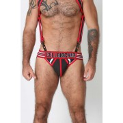 CellBlock 13 Rogue Jock Strap Underwear Red