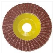 L.S.C. Isolanti Elettrici Disco Lamellare 115x22 Grana 80 Corindone Supporto In Fibra
