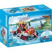 Playmobil 9435 - Gommone Dei Predatori Edizione Limitata