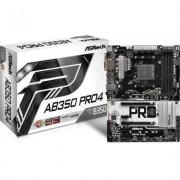 Inny Płyta ASRock AB350 Pro4 /AMD B350/DDR4/SATA3/M.2/USB3.0/PCIe3.0/AM4/ATX