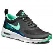 Nike Buty NIKE - Air Max Thea Se (Gs) 820244 002 Anthracite/Green Glow