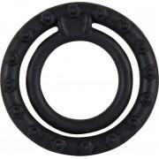 Crni silikonski prsten za penis i testise YOU2T00257