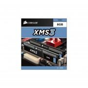 Corsair 8GB (2 X 4 GB) DDR3 1333 MHz Unbuffered CL9 DIMM Memory Kit For Intel Core I3/i5/i7 Dual Channel (PC3 10600) CMX8GX3M2B1333C9