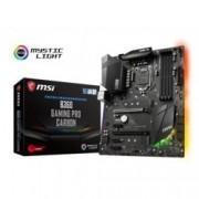 Дънна платка MSI B360 Gaming Pro Carbon, B360, LGA1151, DDR4, PCI-E (DP&HDMI)(CF), 6x SATA 6Gb/s, 2x M.2 slots, 1x USB Type-C, 3x USB 3.1 Gen2, ATX