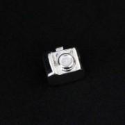 Berloque de Prata 925 Máquina Fotográfica para Pulseira Momentos de Vida