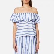 Paisie Women's Stripe Off the Shoulder Top - Multi - XS - Multi