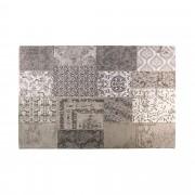 Covor SPIROS 160x230cm, patchwork gri