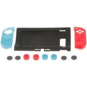 MagiDeal 11in1 Antideslizante Cubierta De Silicona Suave Caso Pulgar Apretones Tapa Para Nintendo Switch