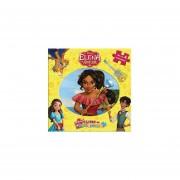 Libro Rompecabezas Elena Avalor Princesa Juego Niñas Disney