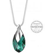Levien Femeie de Pear Metcap Emerald Colier