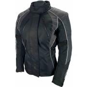 Bores Shanon Women Motorcycle Textile Jacket Black Grey M