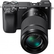 Sony »Alpha 6100 Kit mit SELP1650 + SEL55210« Systemkamera (SELP1650, SEL55210, 24,2 MP, NFC, Bluetooth, WLAN (Wi-Fi)