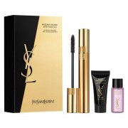 Yves Saint Laurent Coffret Mascara Volume Effect 01 +top Secret Instant Moisture Gloss +top Secret Demquillant