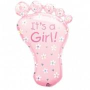 Balon folie talpa IT'S A GIRL