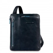PIQUADRO Blue Square Borsello Porta Notebook Tablet fino a 10'' Blu