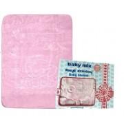 BABY MIX KOCYK DZIECIĘCY - Różowy
