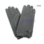 Eleganckie rękawiczki z kokardami 4 KOLORY