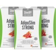 AdipoSlim STRONG kapsułki odchudzające dla płaskiego brzucha, 3-miesięczny program