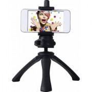 SCORIA Mini Foldable Handy Tripod Universal For Digital Camera All Mobile Phones Black