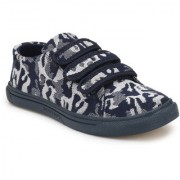 Shoe Rider Mens Low cut Navy Blue Camouflage print Casual Sneaker