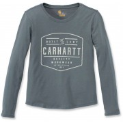 Carhartt Lockhart Dam långärmad skjorta Grå Grön M