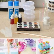 DIY Make Slime Crystal Mud Making Kit For Kids Games Children Educational Toy Pottery Clay & Tools