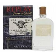 Replay Jeans Original Him Eau De Toilette 75 Ml