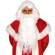 Geen Kerstman set baard met pruik