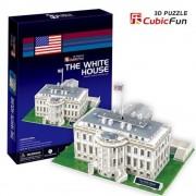 Puzzle 3D Casa Alba, 56 piese