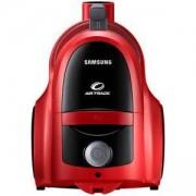 Прахосмукачка без торба Samsung, 850 W, Телескопична тръба - Червена, VCC45T0S3R/BOL