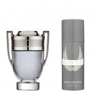 Paco Rabanne Invictus Confezione 100 ML Eau de Toilette + 150 ML Deo Spray