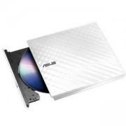 Външно записващо устройство ASUS SDRW-08D2S-U EXTRNL WHITE, DVD-RW-ASUS-SDRW-08D2S-U-LITE-WHT-G-AS
