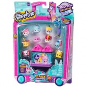 Set 12 figurine Shopkins colectia Europa Purple, 5 ani+