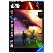 Ravensburger puzzle star wars, ep. vii, 500 piese