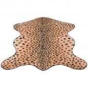 vidaXL Oblikovani tepih 150x220 cm Gepard Print
