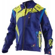 Leatt GPX 4.5 X-Flow Chaqueta Motocross Azul/Verde XL