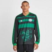 Adidas Tyshawn Ls Jersey Black/Green