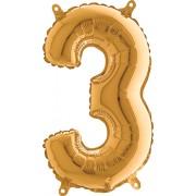grabo 3 Gold Foil Number 26in/66cm