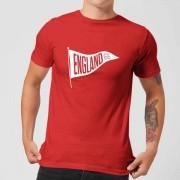 Football Camiseta Fútbol Inglaterra Banderín England 66 - Hombre - Rojo - M - Rojo